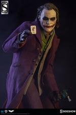 Коллекционная фигурка Джокер Темный рыцарь Sideshow Collectibles ДС комикс фотография-01.jpg
