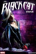 Статуэтка из искусственного камня Черная кошка Sideshow Collectibles Марвел фотография-01.jpg