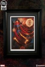Художественная компьютерная печать Доктор Странный Sideshow Collectibles Марвел фотография-01.jpg