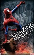 Коллекционная фигурка Невероятный человек-паук Sideshow Collectibles Марвел фотография-01.jpg