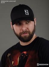 Одежда Шляпа логотипа Sideshow Collectibles - черный Sideshow Collectibles Сайдшоутойс, сайдшоу колектиблс фотография-01.jpg