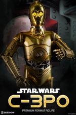 Коллекционная фигурка C-3PO Sideshow Collectibles Звездные войны фотография-01.jpg