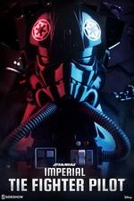 Фигурка Имперский пилот-истребитель TIE Sideshow Collectibles Звездные войны фотография-01.jpg