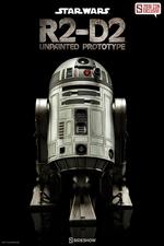 Фигурка  Р2-Д2 - непрокрашенный прототип Sideshow Collectibles Звездные войны фотография-01.jpg