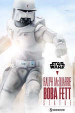 Статуэтка Ральф МакКуари Боба Фетт Sideshow Collectibles Звездные войны фотография-01.jpg