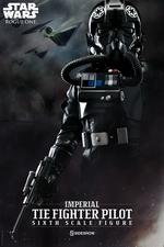 Фигурка TIE Pilot Sideshow Collectibles Звездные войны фотография-01.jpg
